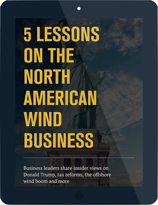 5 lessons on the North American wind business free ebook
