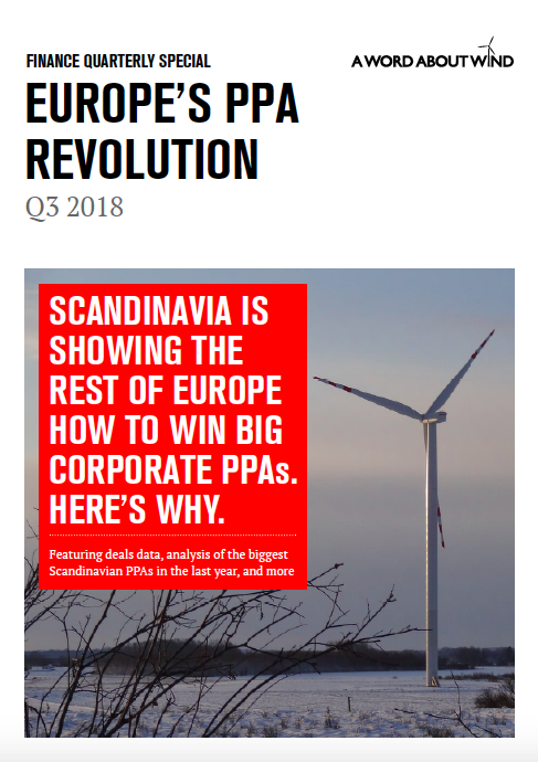 Europe's PPA Revolution report | A Word About Wind