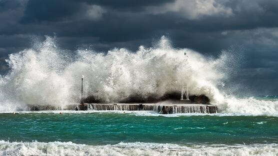 wind farms and hurricanes